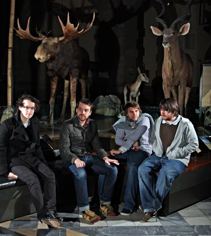 Frightened Rabbit (photo by Dave Gourley)